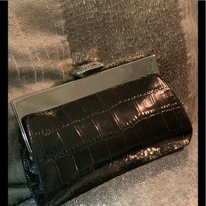 Ann Taylor genuine leather croc 🐊 Clutch